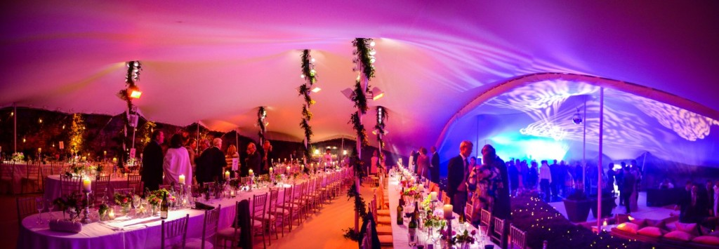 Stretch Tent Lighting