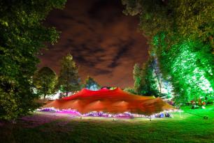 20x22m chino greenbelt fest night lit