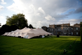 Beautiful Chino stretch tent at Stone Easton Park