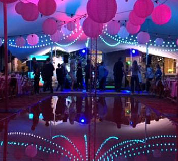 10m x 15m Platinum stretch tent for a private party in the Coteswolds