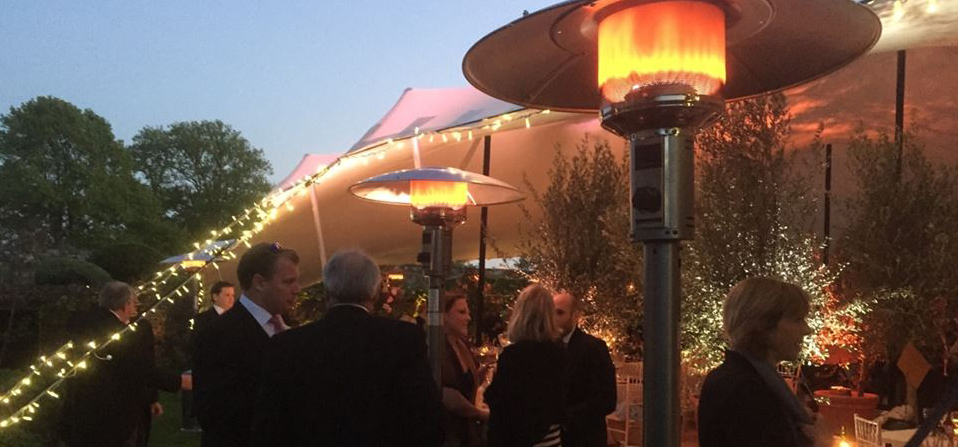 Marquee Heaters, Outdoor Event Heating