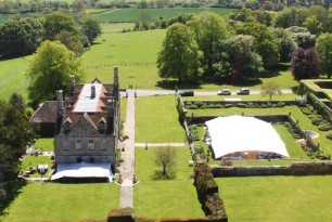 Hatch House aerial