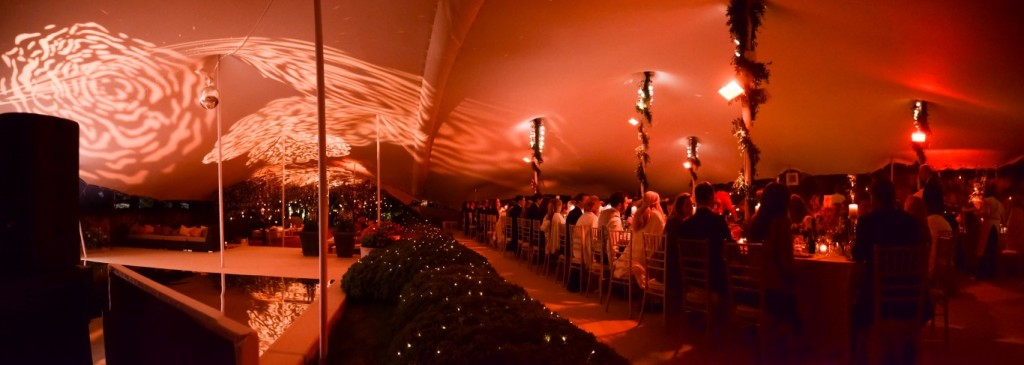 Combined Stretch Tent Hire UK events