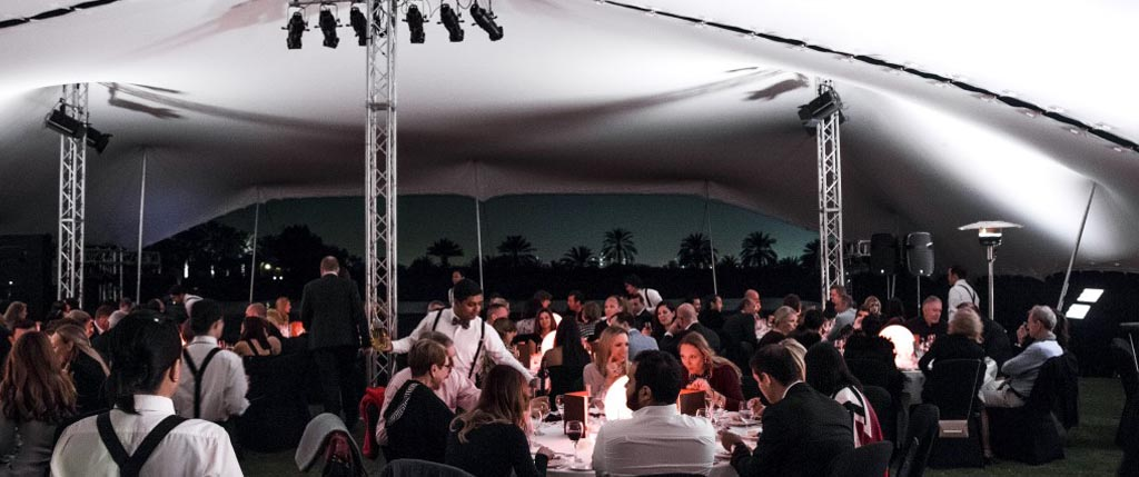 Corporate Event Stretch tent Hire UK