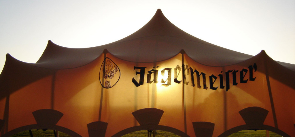 Custom Bar Tents Festivals