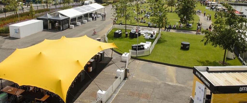 Custom Stretch Tent Events