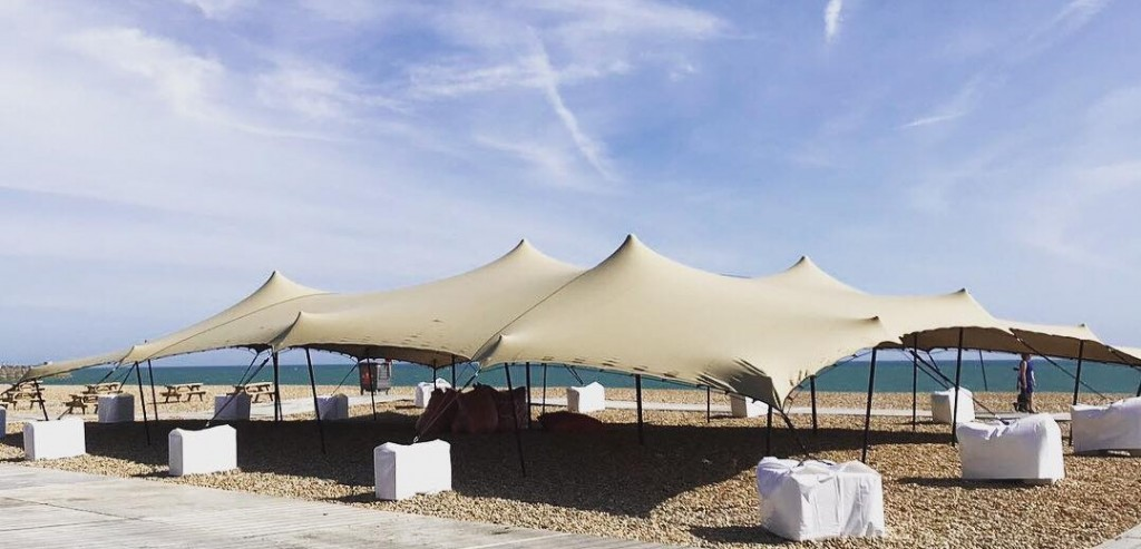 Large Stretch Tent Hire For Festivals