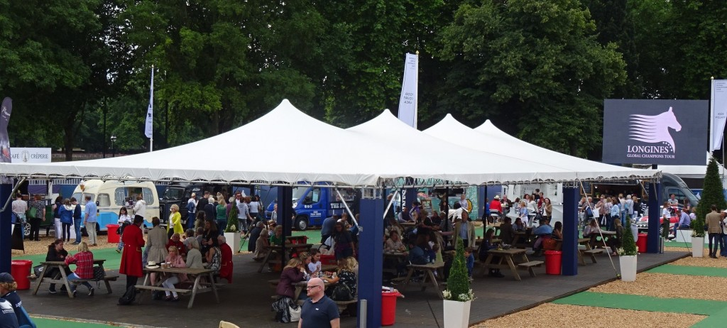 Large Stretch Tent Hire For Sporting Events