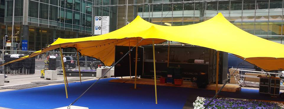 Medium Stretch tent Hire UK