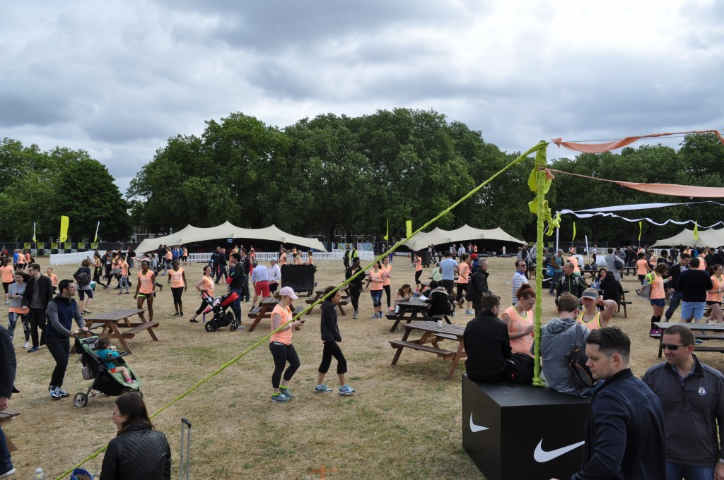 Corporate Stretch Tent hire for nike