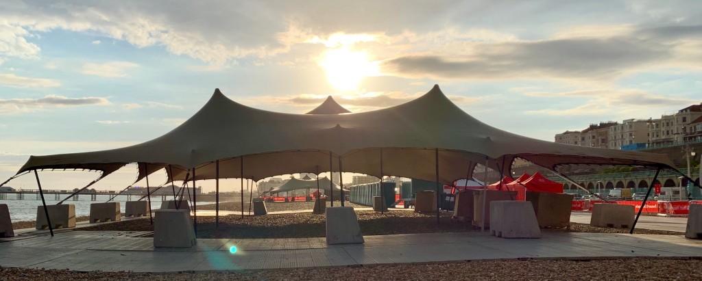 stretch tent hire uk